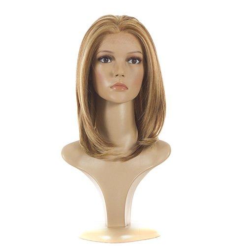 The Rachel Wig | Natural Look Layered Face Framing Lace Front Fashion Wig | Ibiza Blonde Multi Tonal Highlights Jennifer Wig