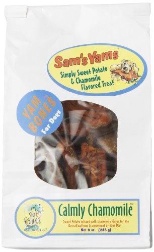 Sam'S Yams Yam Bones Sweet Potato Dog Treats, Calmly Chamomile, 8-Ounce