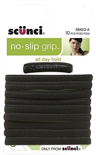 No Slip Elastic Hair Bands, Black