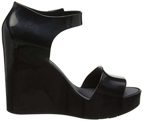 Zapatos Plataforma Mar Mujer Black Melissa black Wedge Para Con U1w6q