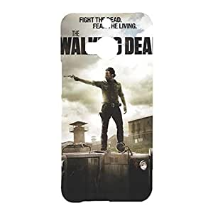 Walking Dead HTC ONE M9 Plus Case,Fashionable The Walking Dead Cell Phone Case Cover for HTC ONE M9 Plus ,Rick Grimes Handsome