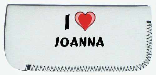 Glasses Case with I Love Joanna (first name/surname/nickname) SHOPZEUS