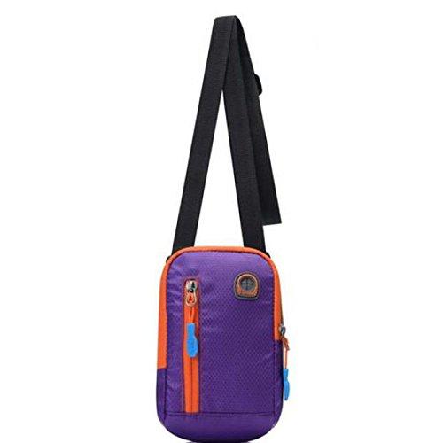 JIA HONG Sport Brazalete Arm Brazo Bolsa Bolsa De Muñeca Purple
