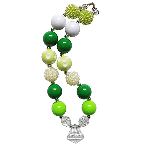 So Sydney Baby Toddler Little Girl Holiday Chunky Bubblegum Bead Beaded Necklace (Luck Of The (Irish Costume Ideas)