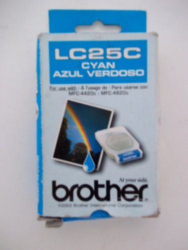 Inkjet Brother Cyan Lc25c (Brother, LC25C, Cyan, For MFC-4420c, MFC-4820c)