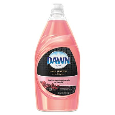 Dawn Liquid Dish Detergent, Beauty Hand Renewal, Pomegranate, 28 oz Bottle,12/Carton by Dawn