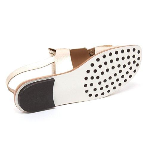 B4408 sandalo donna TODS scarpa maxi frangia oro sandal shoe woman Oro