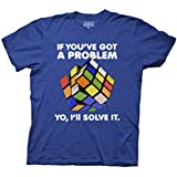 Ripple Junction Rubiks Cube Yo I'll Solve It Adult T-Shirt