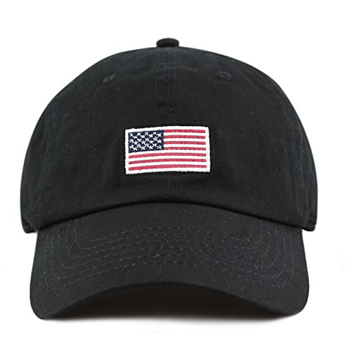 The-Hat-Depot-USA-Embroidered-Washed-Cotton-Low-Profile-Cap-Hat