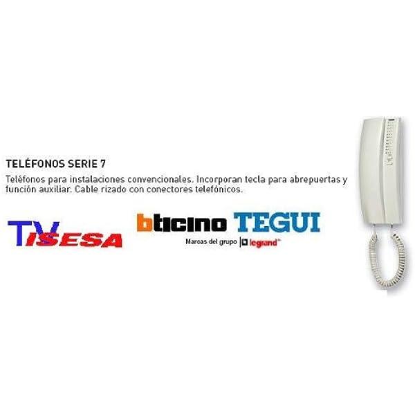 Tegui T-71U Universal - Teléfono, Blanco: Amazon.es: Industria, empresas y ciencia