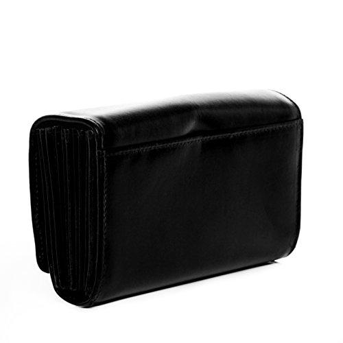 SID & VAIN® XL Aktentasche ETON - Herren Laptoptasche XL groß Ledertasche mit gepolstertem Gerätefach- Businesstasche mit Schultergurt im Vintage-Look Herrentasche echt Leder hellbraun-cognac pfLkj2l3