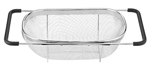 Cuisinart Over-The-Sink Colander, 5.5 Qt,Stainless Steel