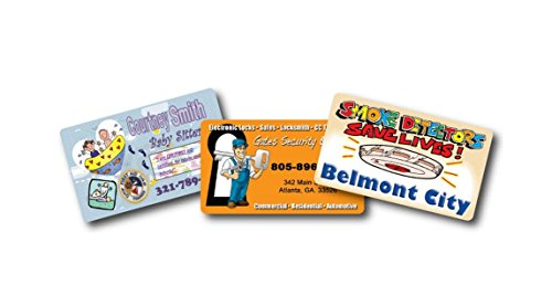 1000 Custom Personalized full colored Business Card Magnets 2x3.5 ()