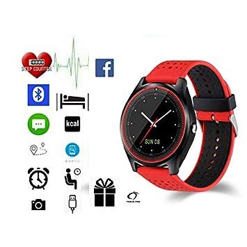 Torus Pro V9 - Reloj deportivo con podómetro, monitor de sueño, recordatorio de llamadas