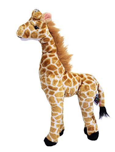 Plush Standing Giraffe - Original Giraffe Standing Tall Soft Plush Stuffed Animal (18