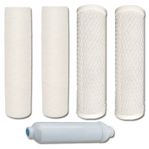 Watts 5-PK-4SV Premier 1-Year 4-Stage Reverse Osmosis Replacement Filter Kit, by Watts Premier