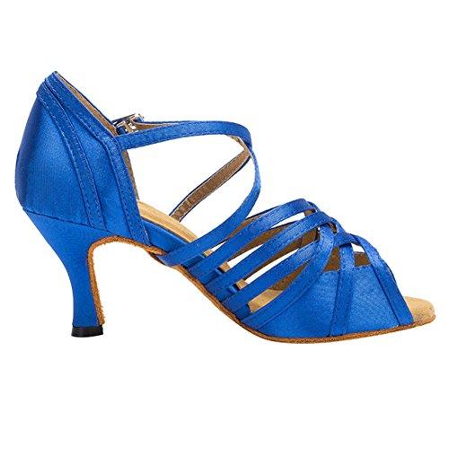 Salon HW180512 Blue 5cm 7 Femme de Danse Heel Miyoopark MiyooparkUK xa7TII