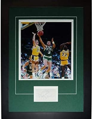 8fd6479aba7 Dennis Johnson Autographed Signed Auto Boston Celtics Signature Series  Frame - Certified Authentic
