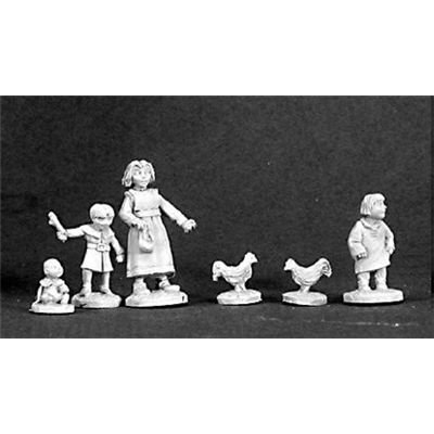 Townsfolk: Children (Childrens Miniature)