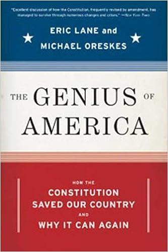 Book The Genius of America by Lane, Eric, Oreskes, Michael. (Bloomsbury USA,2008)