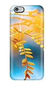 MaryannVillanueva Fashion Protective Golden Foliage Case Cover For Iphone 6 Plus