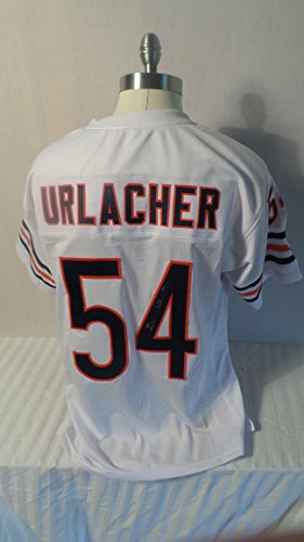 Brian Urlacher Signed Chicago Bears Autographed White Jersey