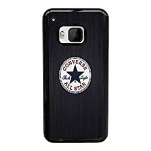 HTC One M9 Cell Phone Case Black Converse Allstar Logo ST1YL6697643