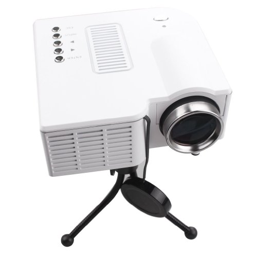 Galleon andoer 60 portable mini hd led projector cinema for Small projector for laptop
