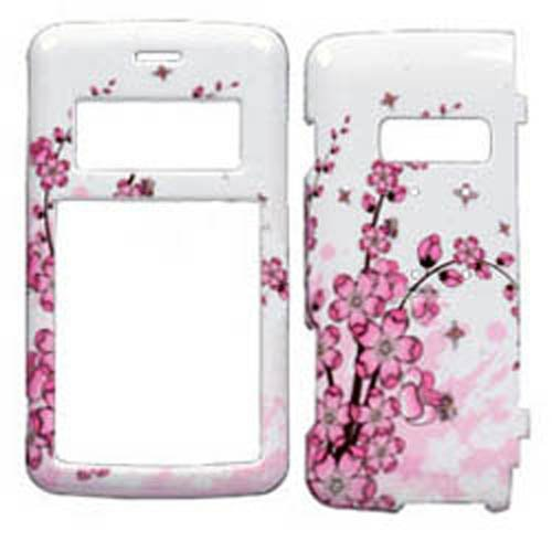 Env2 Phone - Hard Plastic Snap on Cover Fits LG VX9100 enV2 Spring Flowers