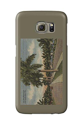 Ft. Lauderdale, Florida - Las Olas Blvd. (Galaxy S6 Cell Phone Case, Slim Barely - Olas Los Ft Lauderdale
