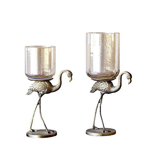 - Flamingo Candle Holder for Wedding Party Dining Table Home Decoration (Small)