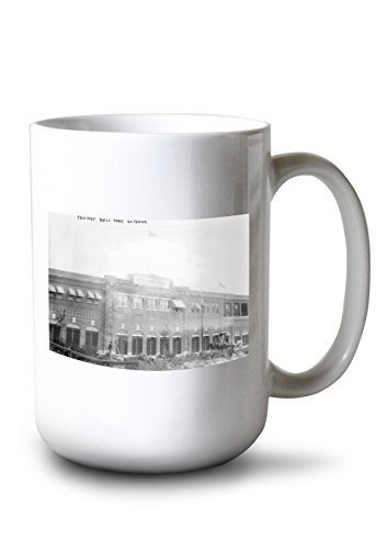 Lantern Press Fenway Park, Boston Red Sox - Baseball #2 - Vintage Photograph (15oz White Ceramic Mug)