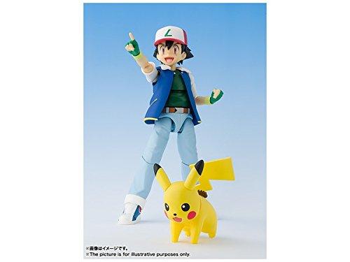 S. H. Figuarts Pokémon Ash Ketchum  ABS & PVC painted action figure 5 in