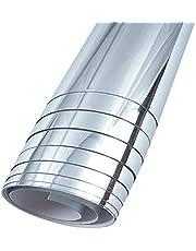 Self adhesive mirror sticker roll 70 - 100 cm