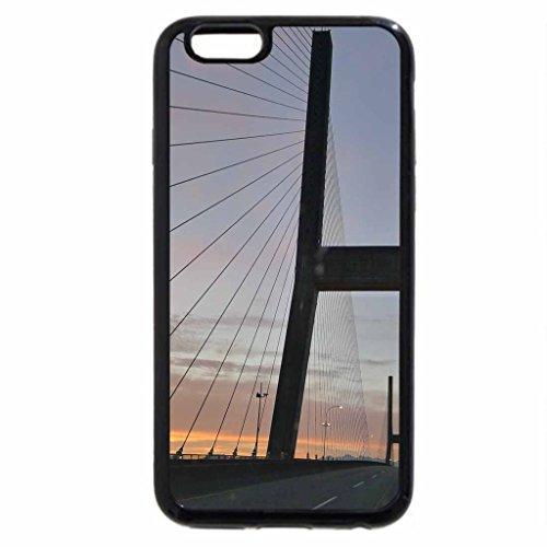 iPhone 6S / iPhone 6 Case (Black) Bridge crossing