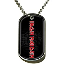 Raz DOG TAG - Iron Maiden Logo Officially Licensed Product