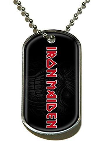 Buy iron maiden necklace