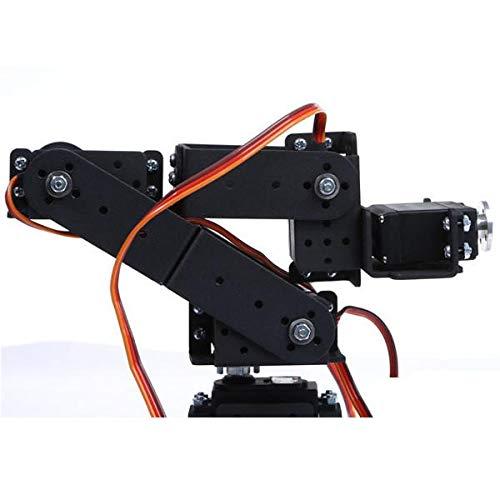 6 DOF 3D Rotating Mechanical Robot Arm Kit For Smart Car - Arduino Compatible SCM & DIY Kits Smart Robot & Solar Panel - (Bracket with Metal Helm + six DS3115 servos) - 1 x DIY 6 Digit LED Large by Unknown (Image #6)