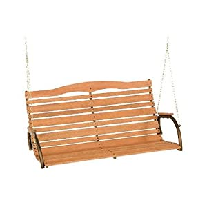 Jack Post CG-05Z Country Garden Collection Patio Swing, Steel With Hardwood, 51-In. from Jack Post