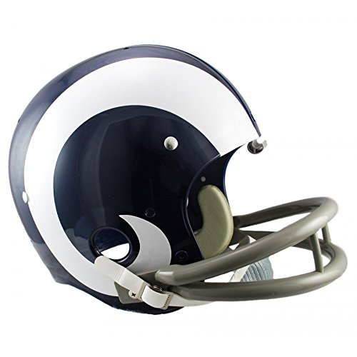 - Riddell NFL Los Angeles Rams 1965-1972 Throwback Replica TK Suspension Full Size Football Helmet