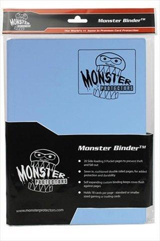 Monster Binders 9PMDB Binder 9 Pocket Monster - Matte Delta Blue by MONSTER BINDERS by Monster Binders