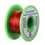 speaker wire coil - BNTECHGO 18 AWG Magnet Wire - Enameled Copper Wire - Enameled Magnet Winding Wire - 4 oz - 0.0393