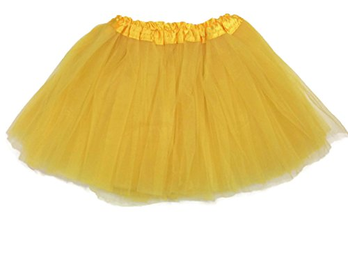Rush Dance Ballerina Girls Dress-Up Princess Fairy Costume Recital Tutu (Kids 3-8 Years, Yellow) (Recital Dance Costumes Girls)