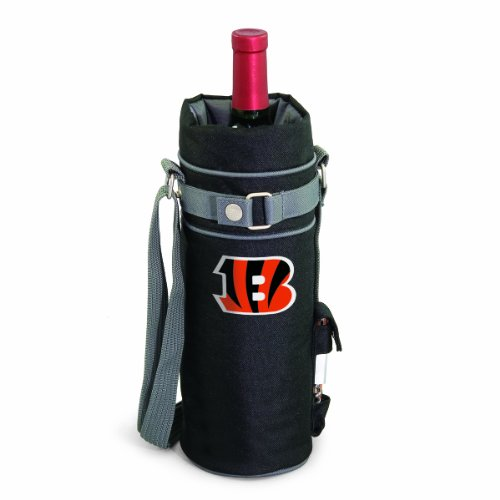 - NFL Cincinnati Bengals Insulated Single Bottle Wine Sack with Corkscrew