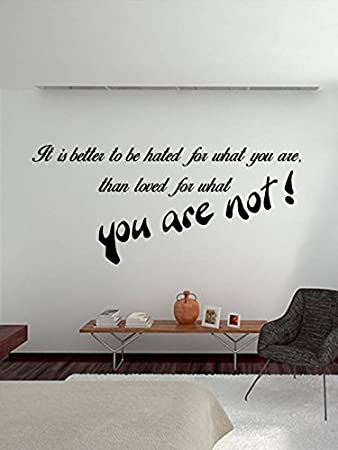 Trends On Wall Vinyl Quotes Sticker    113 cm, Multicolor, Pack of 1  Wall Stickers   Murals