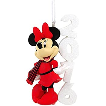 Amazoncom Hallmark Disney Minnie Mouse Bowtique Christmas