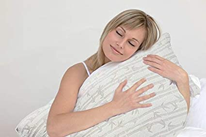 Shredded Memory Foam Bed Pillow All Side Sleeper Adjustable Loft Pillows Cooling Velvet Soft Rayon Bamboo Removable Cover Clara Clark Bamboo Foam Pillows 6-Pack King//Cal King Hypoallergenic