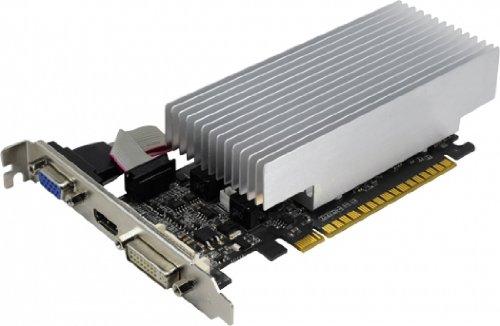 Palit NEAT6100HD06H GeForce GT 610 Grafikkarte (PCI-e, 1GB GDDR3, DVI, HDMI, CRT, 1x GPU)
