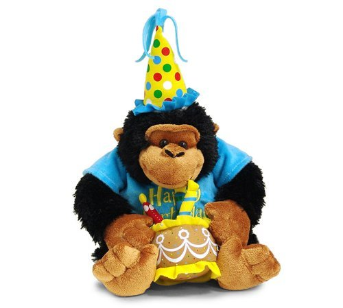 Birthday Monkey Gift - Happy Birthday 12