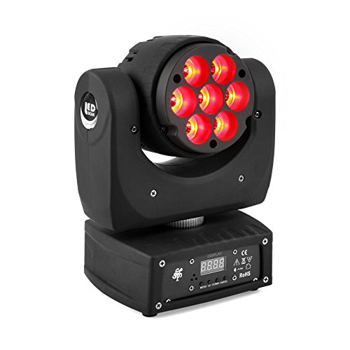 TSSS Super Bright DMX512 RGBW 70W LED Moving Head Stage Light for DJ Party Lighting Event Show Live Concert
